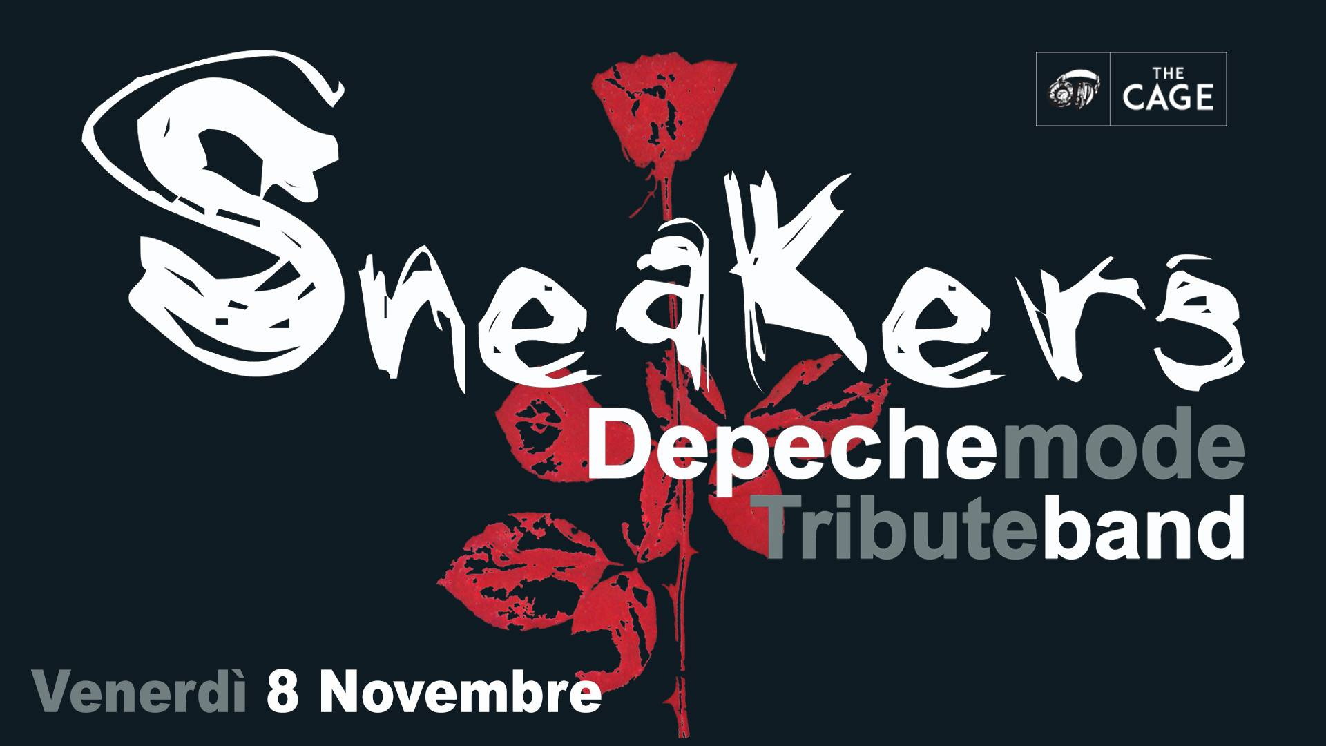 Sneakers – Depeche Mode Tribute Band a Livorno // The Cage